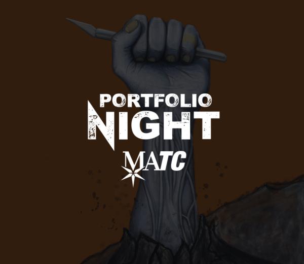 MATC | Portfolio Night Identity (Poster & Invite)